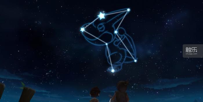 送别恐龙时,看着它再次成为远方的星辰
