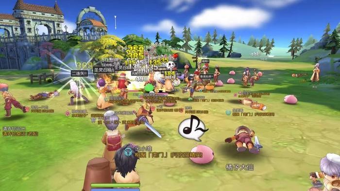《仙境传说:守护永恒之爱》游戏中的玩家