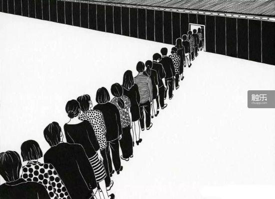 Game Jam全国统一的主题,是当代艺术家邱丹丹的一幅画