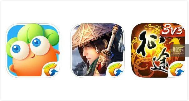 《保卫萝卜3》《剑侠情缘手游》《征途手机版》都戴上了腾讯游戏专属的角标