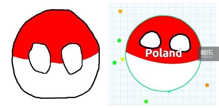 波兰球和游戏中的波兰皮肤