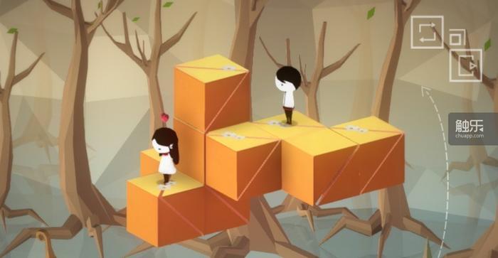 游戏的基本玩法是控制女主角克服各种困难走到男主角身边