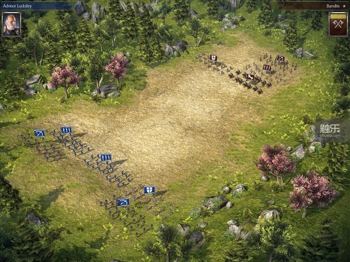 战场本来就已经很局促,单位的移动还很困难