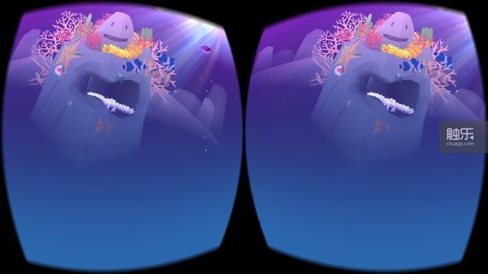 如果有VR设备就可以更好地欣赏美轮美奂的水族馆啦