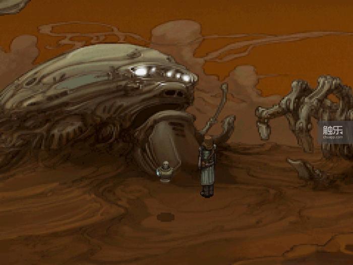 游戏的机械设定有些《异形》第一集的味道
