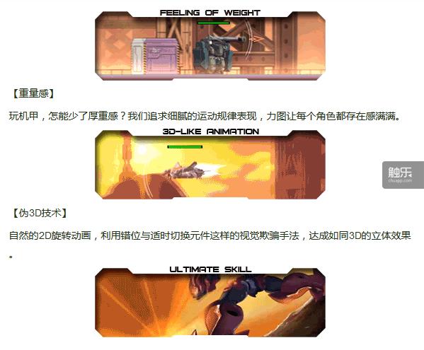 不仅仅是这几张gif,游戏众筹页面每一张图都是经过细分的