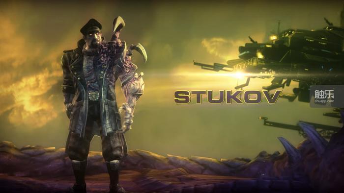 新的指挥官——斯图科夫
