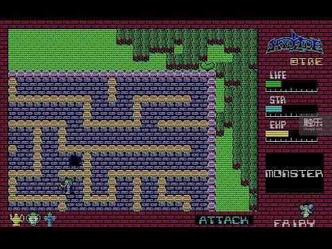 《梦幻仙境》画面,很多方面受到之前的《迷宫塔》影响