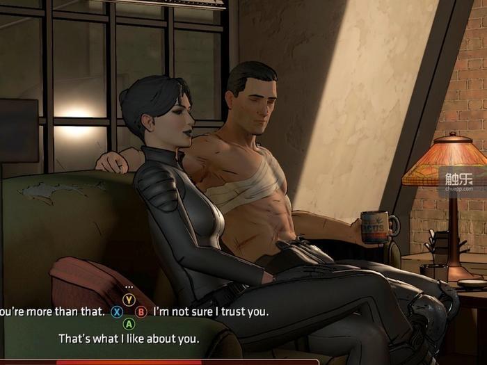 布鲁斯和赛琳娜能否打响这发战友炮,取决于上一章结尾你是否选择拯救她