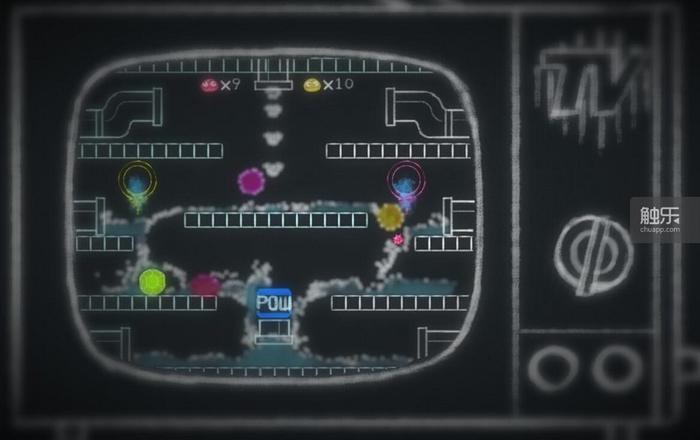"""在游戏进程中,可以给小霸王插上卡带玩到一些利用""""水""""改编的游戏"""