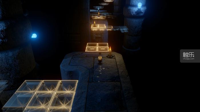 有光,就有台阶;你可以借助点亮其他蜡烛来令光芒的阶梯保持光芒