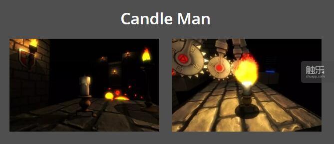 最初的蜡烛人
