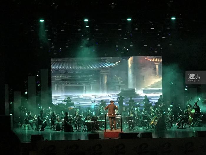 音乐会现场照片