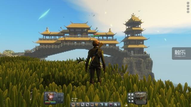 玩家用建筑模式制作的楼阁